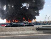 مدير عام مرفأ بيروت يكشف تفاصيل الحريق