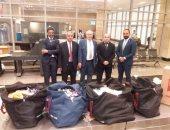 جمارك مطار القاهرة تحبط تهريب كمية من مستحضرات التجميل