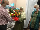 """""""سيدة القطار"""": حصلت على درع القوات المسلحة خلال حفل تكريم المجند عبد الله"""
