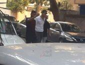 صالح جمعة يطلب التصالح أمام النيابة مع شاب صدمه بسيارته فى الجيزة