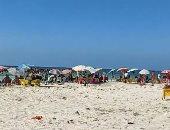 """""""شاطئ الموت"""" النخيل سابقا يزدحم بالمصطافين رغم التحذيرات والغلق وكورونا..لايف"""