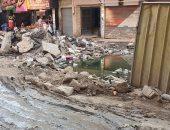 أهالى شارع المطراوى فى المطرية بالقاهرة يشكون طفح الصرف الصحى منذ أسبوع