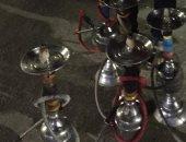 """ضبط مقهى مخالف يقدم """" الشيشة  """" للمواطنين بالزقازيق.. صور"""