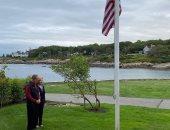 """بوش وزوجته يحييان الذكرى 19 لأحداث سبتمبر """" نتذكر صدمة الشر """"  .. صور"""