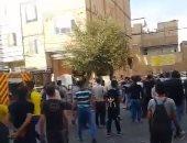 """انفجار ضخم يضرب العاصمة الإيرانية """"طهران"""" بسبب مصنع بطاريات .. فيديو"""