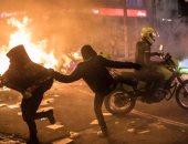 """10 قتلى و14 مصابا باحتجاجات ضد الشرطة بسبب مقتل """"فلويد الكولومبى"""".. صور"""