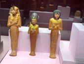 تعرف على مقتنيات الملك توت عنخ آمون المعروضة بمتحف آثار الغردقة.. صور
