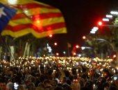 تخريب خطوط السكك الحديدية في كتالونيا قبيل مسيرات مؤيدة للاستقلال