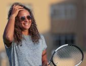 قصة صور.. ميار شريف الفتاة الذهبية في رياضة التنس المصرية