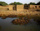 موقع أجنبى يلقى الضوء على الآثار المهددة بسبب ارتفاع مياه الفيضانات فى السودان