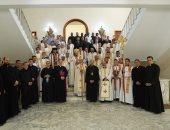 بطريرك الكاثوليك يفتتح العام الأكاديمى الجديد بالكلية الإكليريكية فى المعادى