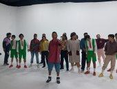 """صور.. أوكا يبدأ تصوير أحدث أغانيه بعنوان """"اتدلع 1991"""""""