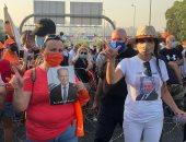 خروج تجمعات قرب قصر بعبدا لدعم وتأييد الرئيس ميشال عون.. صور وفيديو