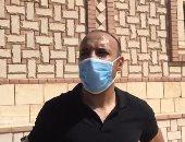 تعافى أيمن عبد العزيز  مدرب الزمالك من فيروس كورونا
