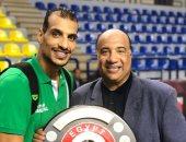 الاتحاد السكندرى يجدد تعاقد إسماعيل أحمد موسم واحد مع فريق السلة