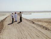 استعدادات مبكرة بمناطق نخل بوسط سيناء للسيول