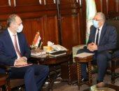 وزير الزراعة يبحث مع سفير بيلاروسيا التعاون الزراعى وتبادل الخبرات