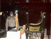 س وج .. هل انتهت تجهيزات عرض مقتنيات توت عنخ آمون بمتحف الغردقة؟