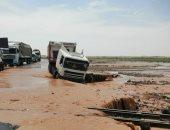 السودان يغلق بعض الطرق بسبب الأمطار والسيول ويحذر المواطنين
