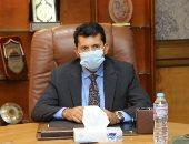 وزير الرياضة يتابع مع اللجنة المنظمة آخر استعدادات مونديال اليد