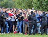 اعتقال أكثر من 250 متظاهر فى بيلاروسيا أغلبهم سيدات وتصاعد الاحتجاجات ضد لوكاشنكو