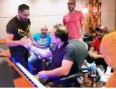 """تامر حسنى يختار الموسيقى التصويرية لفيلمه """"مش أنا"""".. فيديو وصور"""