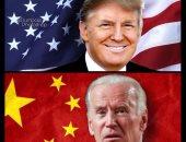 ترامب الابن يواصل سخريته من جو بايدن بصورة له مع علم الصين