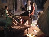 شكوى من سكان شارع الإخلاص بالعصافرة فى الاسكندرية بسبب فرز القمامة