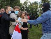 سيدات بيلاروسيا على خط النار.. نساء يتقدمن صفوف المتظاهرين ضد الرئيس.. ألبوم صور