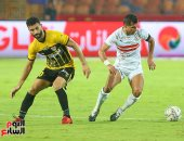أهداف مباراة الزمالك والإنتاج الحربي في الجولة الـ 27 للدوري