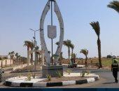 محافظ جنوب سيناء يتفقد أعمال تطوير الكورنيش وشارع 306 وتجميل الميادين بالمحافظة