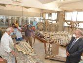 رئيس جامعة أسيوط : كلية الطب البيطرى تساهم فى زيادة الإقتصاد القومى