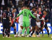 طرد نيمار و 4 لاعبين فى خسارة سان جيرمان أمام مارسيليا بكلاسيكو فرنسا.. فيديو