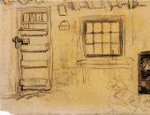 """شاهد.. """"الكوخ من الداخل"""" حسبما أبدعه فان جوخ سنة 1885"""