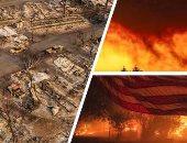 مصرع 3 أشخاص فى حرائق جديدة بولاية كاليفورنيا الأمريكية