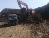 محافظ المنوفية : رفع  150 ألف طن قمامة من مقلب منوف العمومي