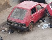 شكوى من سكان شارع الكواكبى بحدائق القبة بسبب السيارات المتهالكة