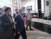 وزير النقل يعلن تطوير فورى لمحطة وورش عربات السكك الحديدية بمحافظة المنيا