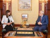 وزيرة الهجرة تستقبل سفير العراق فى مصر لبحث التعاون المشترك بملف المهاجرين
