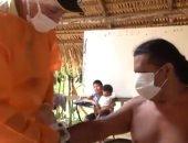 فرق طبية في غابات الأمازون لإجراء تحاليل كورونا على سكان القبائل.. فيديو