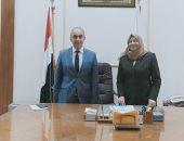 غادة شاكر نائبا لرئيس جامعة الزقازيق لقطاع شئون خدمة المجتمع وتنمية البيئة