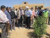 محافظ بنى سويف يتابع مشروع الحل الدائم لمشكلة الصرف ببياض العرب