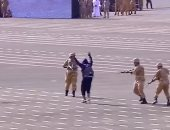 فيديو آخر مسخرة .. التدريبات العسكرية للجيش القطرى على واحدة ونص