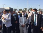 وزيرة الصحة تتابع تجهيزات مستشفى الإسماعيلية لتطبيق التأمين الصحى الشامل