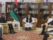 اللجنة المصرية المكلفة بالملف الليبي تؤكد لعقيلة صالح أهمية العودة للمسار السياسى وتثبيت وقف إطلاق النار