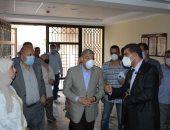 محافظ المنيا يتفقد التجهيزات النهائية بالمعهد الفنى الصحى بمركز سمالوط
