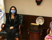 رئيسة القومى للمرأة تلتقى سفيرة البرتغال بالقاهرة