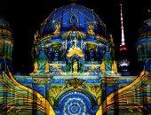 شوف الجَمال واتعلم..معالم برلين تتحول للوحات فنية مذهلة فى مهرجان الأضواء..ألبوم صور