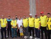 أهالى قرية الرملية بالغربية ينظمون دورة كرة قدم لتكريم شهداء الوطن