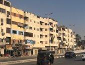 محافظة القاهرة تبدأ دهان العقارات بالمطرية وتنتهى من شارع الحرية.. صور